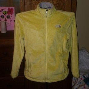 Yellow Large Northface jacket